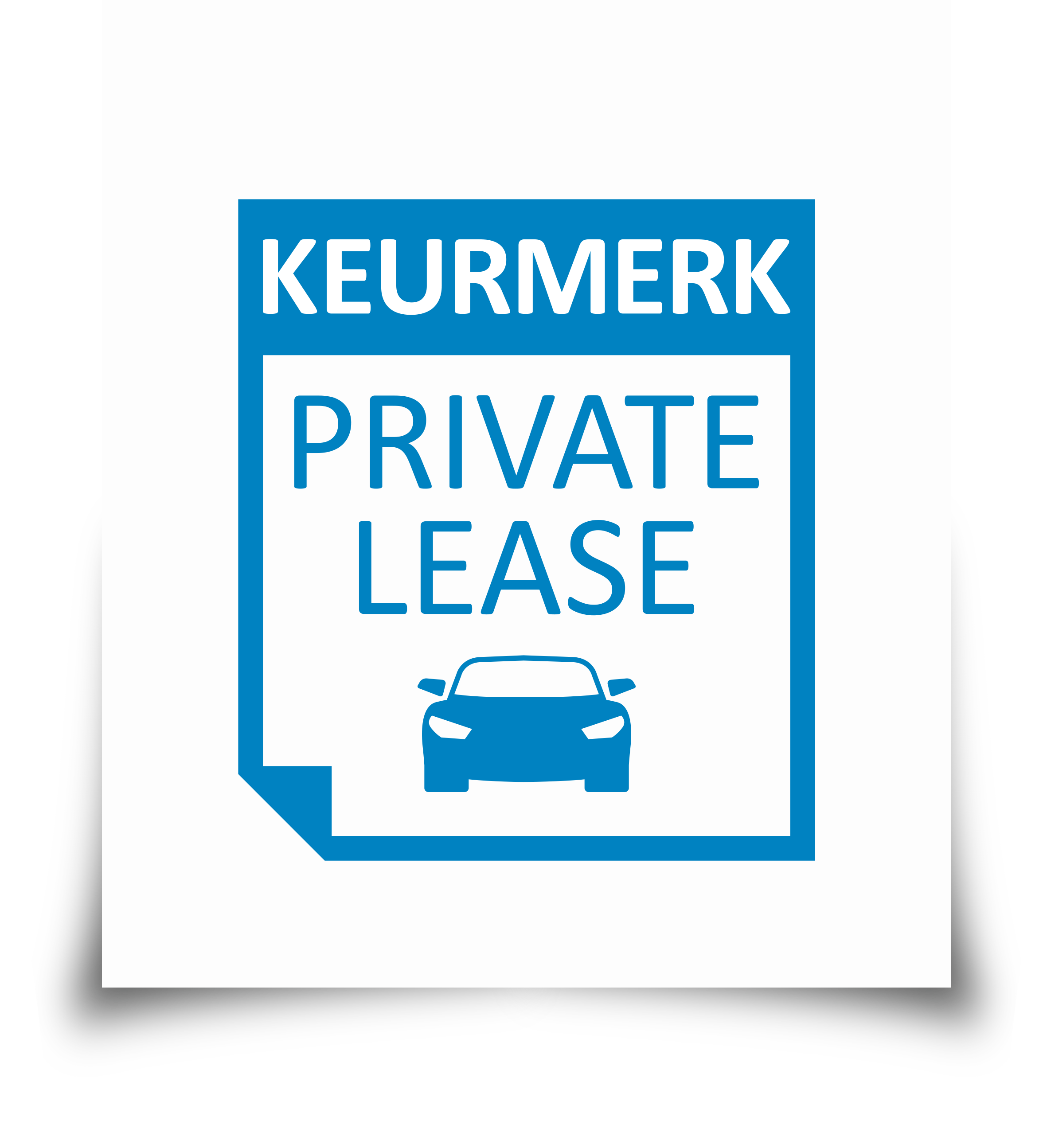 Logo private lease keurmerk